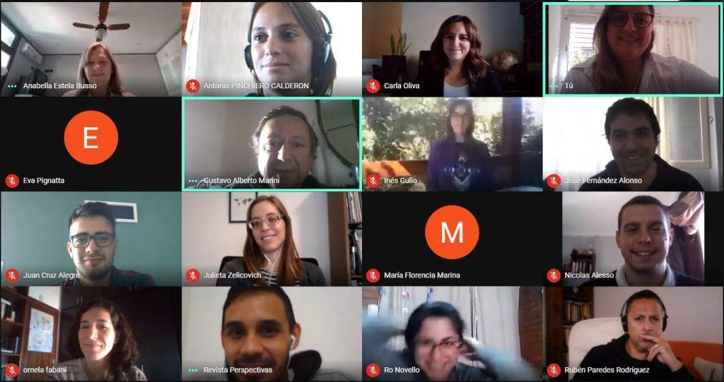 Reunión virtual del Centro en Abril del 2020