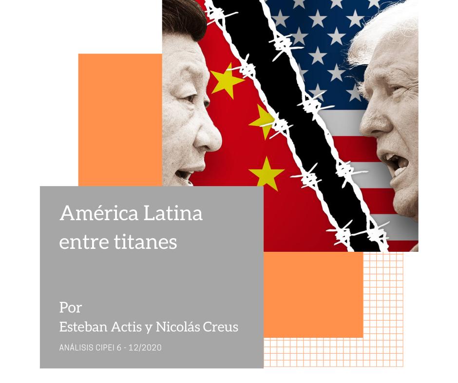América Latina entre titanes